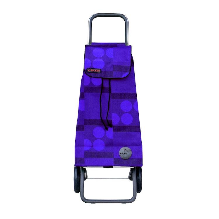 Shoppingvagn Rolser RG Logic Imax Logos blå pris billig