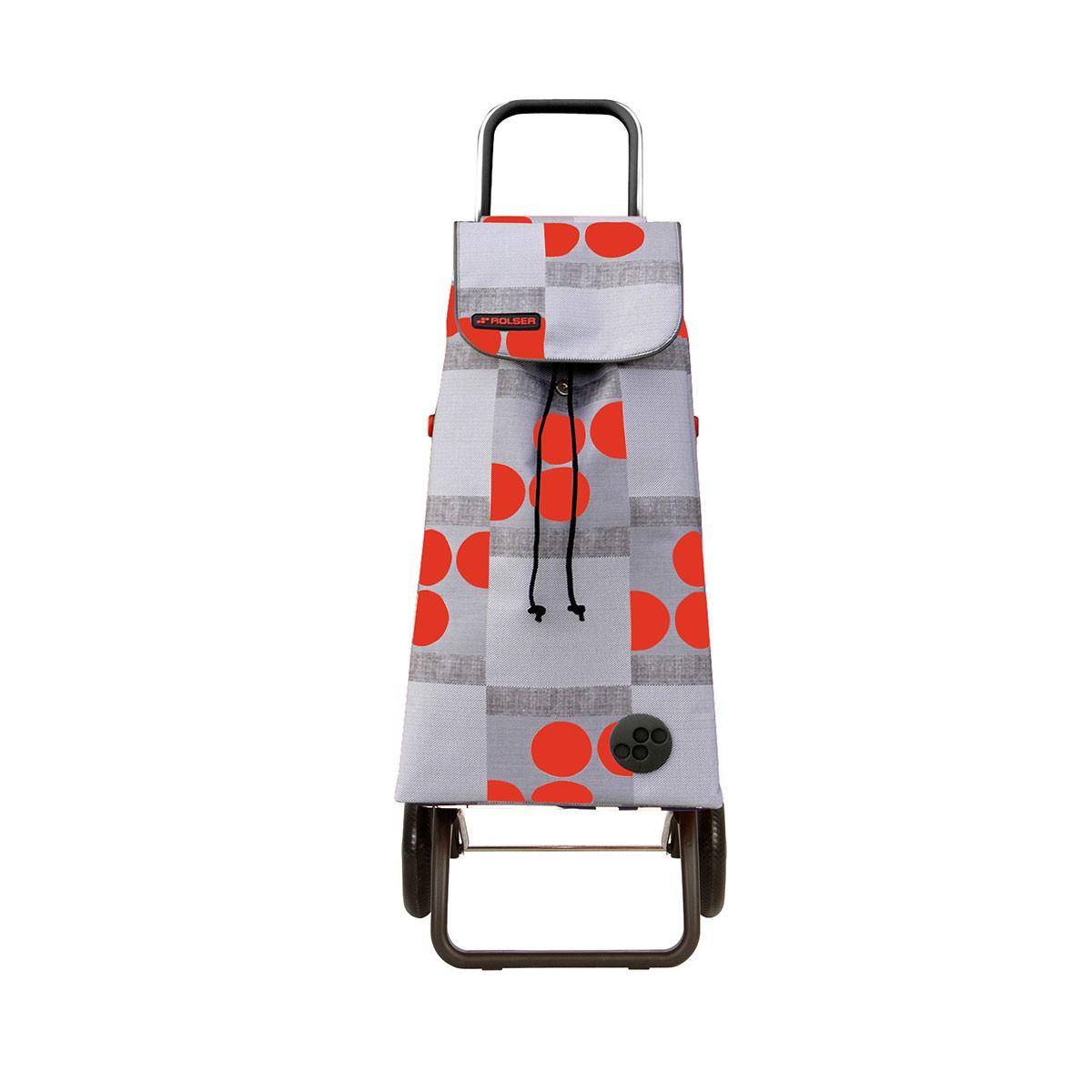 Shoppingvagn Rolser RG Logic Imax Logos röd