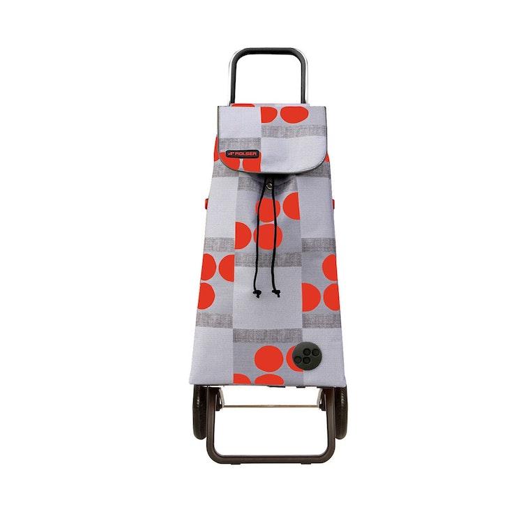 Shoppingvagn Rolser RG Logic Imax Logos röd bra pris billig