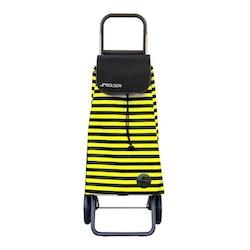 Shoppingvagn Rolser RG Logic Marina svart gul