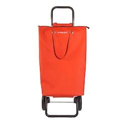 Shoppingvagn Rolser RG Logic Superbag röd