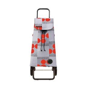 Shoppingvagn Rolser RG Logos röd