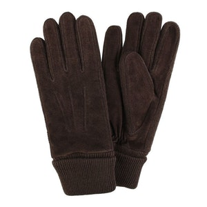 Handskar dam mocka brun