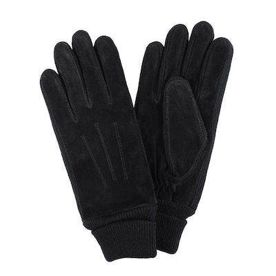 Handskar dam mocka svart