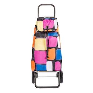 Shoppingvagn Rolser RG Logic Imax Bancal rosa