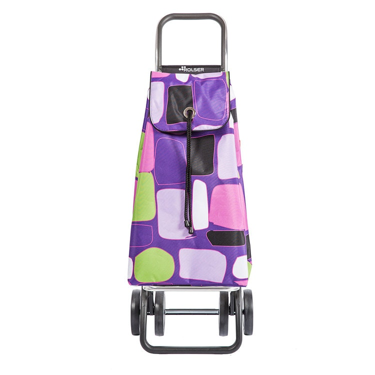Shoppingvagn Rolser 2+2 Logic Imax Bancal lila Shoppingvagn Rolser Dramaten Dramatenvagn pris billig dramatenväska för shopping shoppingkärra