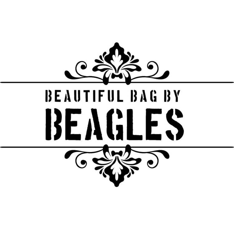 Axelväska taupe konstskinn Beagles DU15966