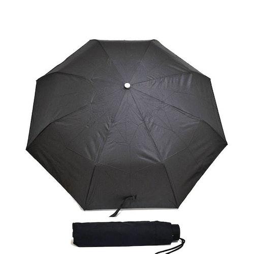 Paraply hopfällbart svart