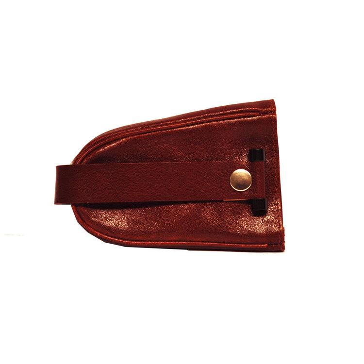 Nyckelfodral skinn med sleif röd SAC