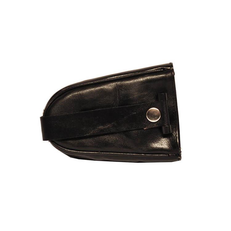 Nyckelfodral skinn med sleif svart SAC