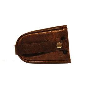 Nyckelfodral skinn med sleif brun SAC