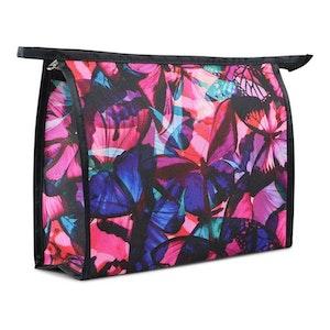 Necessär dam fjärilar blommor Studio