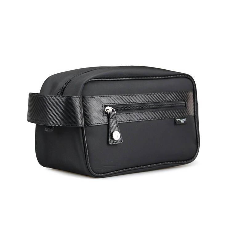 Necessär herr svart med läderband Vittorio - Bags4Fun.se 80b4f14aea0ca