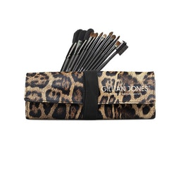 Makeup penslar 12-pack leopard Gillian Jones