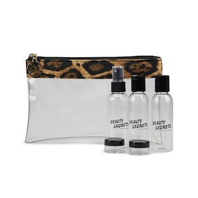 Check-in bag leopard GJ Beauty Secrets