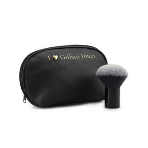 Makeup-pensel & sminkväska svart Gillian Jones