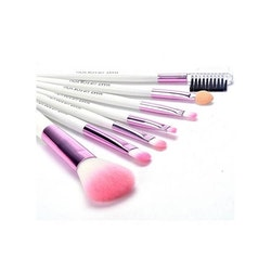 Makeup-penslar set 7 st fodral konstskinn
