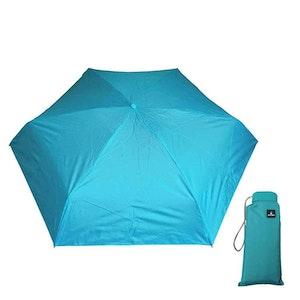 Paraply mini hopfällbart turkos