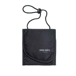 Säkerhetsväska tyg svart Delsey