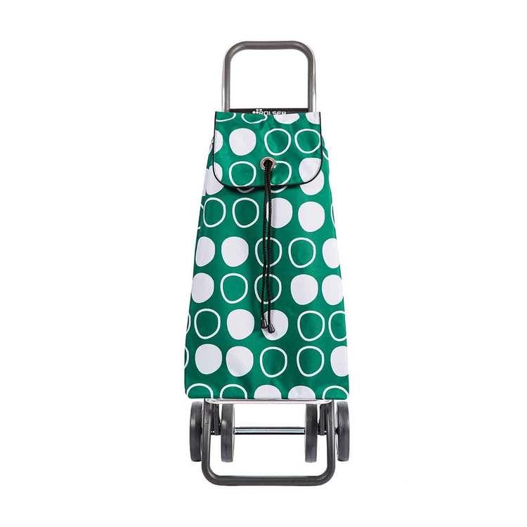 Shoppingvagn Rolser 2+2 Logic Imax Symbol grön