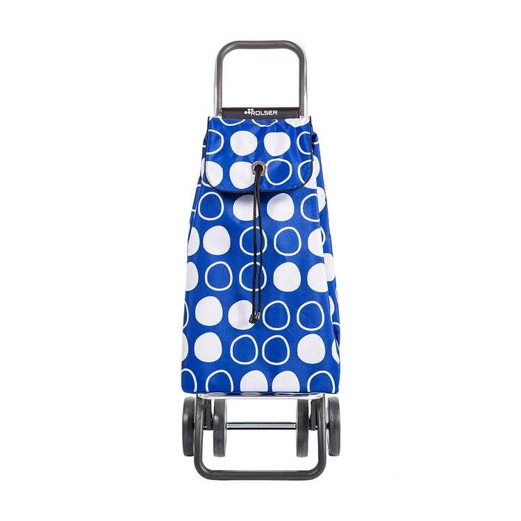 Shoppingvagn Rolser 2+2 Logic Imax Symbol blå
