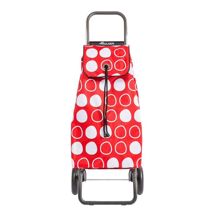 Shoppingvagn Rolser RG Logic Imax Symbol  röd