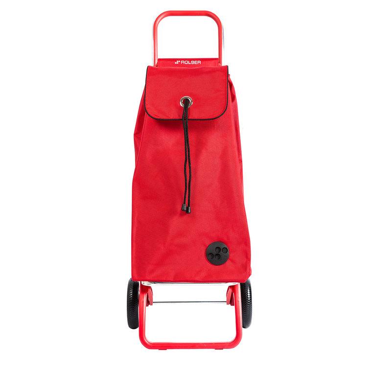 Shoppingvagn Rolser RG Logic Imax Color röd