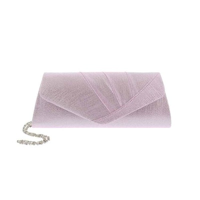 Kuvertväska tyg rosa Maricci 30147
