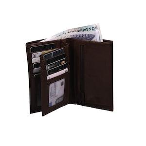 Plånbok skinn brun The Monte 62608