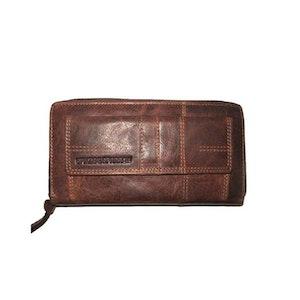 Börs läder brandy Spikes & Sparrow 7716256