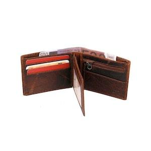 Plånbok dollar läder brandy Spikes & Sparrow 7716342