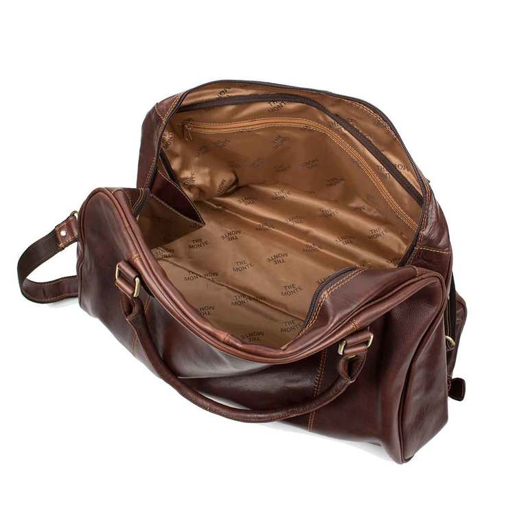 Bag skinn brun The Monte 57167 - Bags4Fun.se cdbb54e2cb6e4