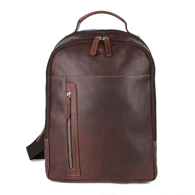Ryggsäck skinn brun The Monte 57338 - Bags4Fun.se 4507287a6b422