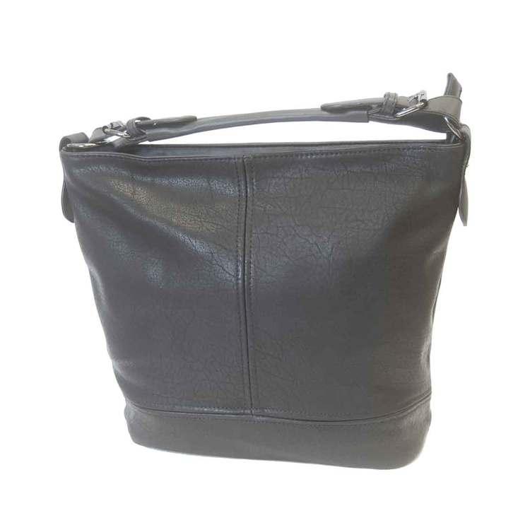 Handväska svart PU SAC 5130200