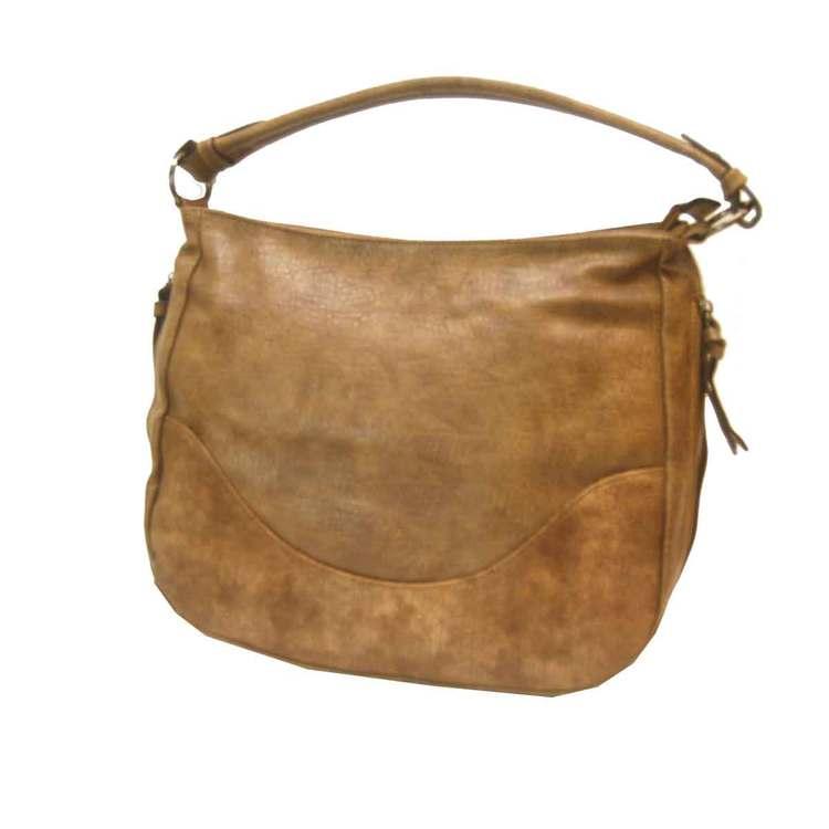 Handväska brun PU SAC 5130100
