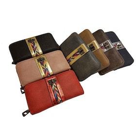 Plånboksväska inkamönster med handledsband SAC