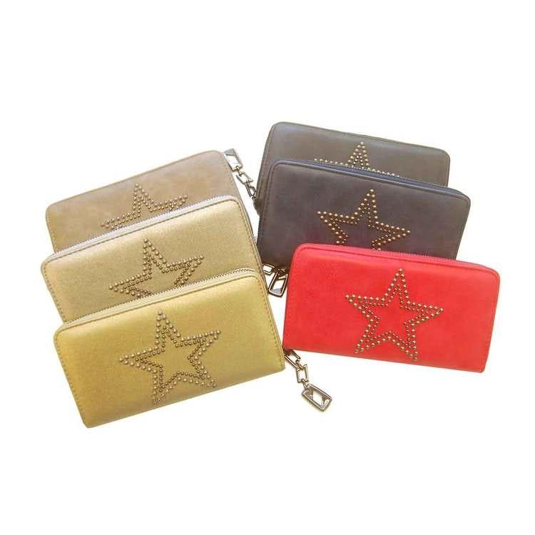 Plånboksväska finns i flera färger