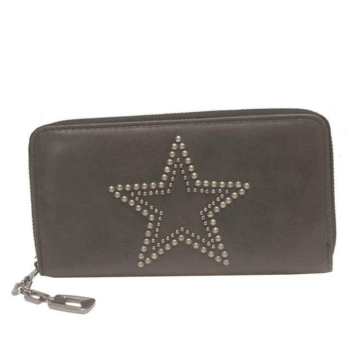 Plånboksväska med plats för mobilen