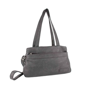Kasse grå konstskinn Beagles DU16221