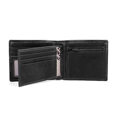 Plånbok dollar skinn svart The Monte 62833