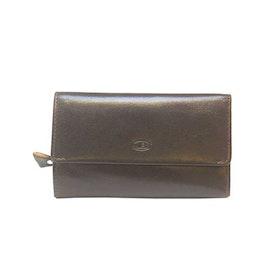 Börs dam skinn brun SAC 6310620