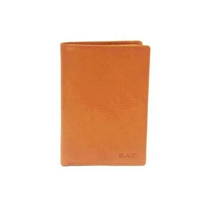 Plånbok skinn natur SAC 6305923