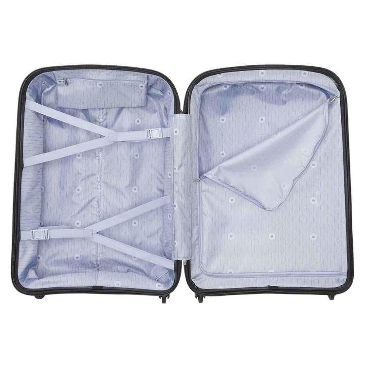 Resväska ljusblå 70 cm Belmont Delsey insida
