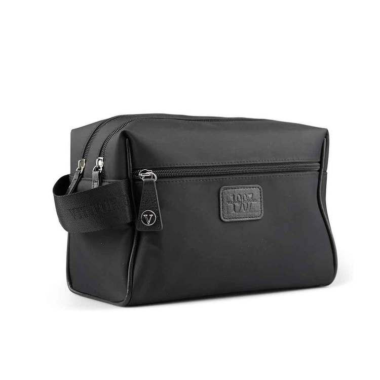 Necessär 2-fack herr svart Vittorio - Bags4Fun.se f9ff2e9949b96