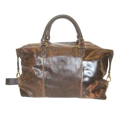 Bag skinn brun The Monte 57306