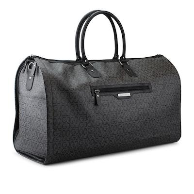 Bag med resegarderob grå jaquard Gillian Jones