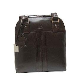 Ryggsäck shopper skinn brun The Monte 52362
