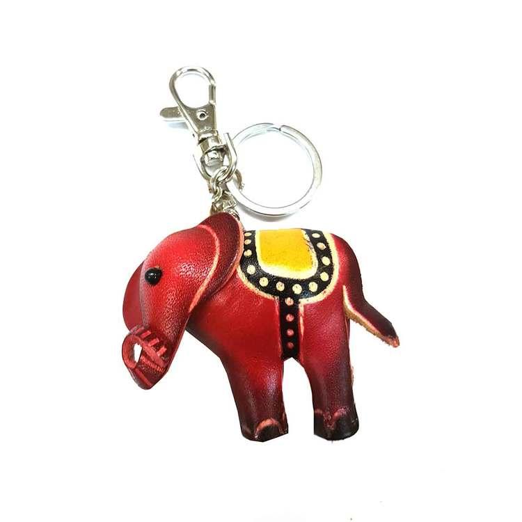 Nyckelring skinn Elefant