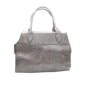 Handväska grå konstskinn S.A.C 5133700