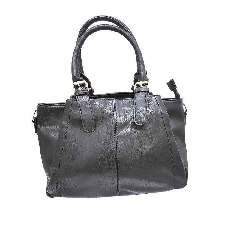 Handväska svart PU S.A.C 5133500
